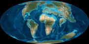 Bild der paläogenen Erde