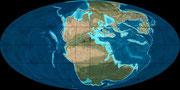 Bild der triassischen Erde