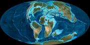 Bild der kreidezeitlichen Erde