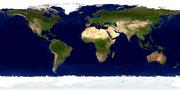 Bild der quartären Erde