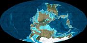 Bild der karbonischen Erde