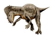 Bild eines Pachycephalosaurus
