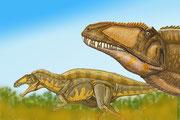Bild eines Acrocanthosaurus