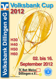 Turnierplakat 2012