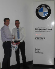 Christian Heintze und Jan- Hendryk Becher