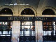 7 дверей - рестораны и кафе Барселоны
