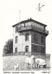 Groden, Neufelder Leuchtturm 1962