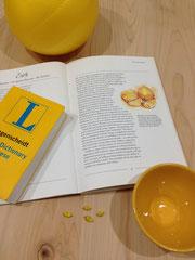 ▲消化器のイメージカラーは、五行でもチャクラでも黄色