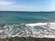 ▲気持ち良い小田原の海