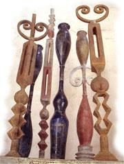 sculptures totem résine
