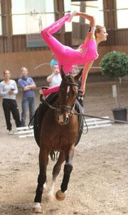 Silbermedaille Einzel Damen: Lisa Hub, Idar-Oberstein