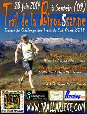 trail la Biroussanne de 18 km à Sentein