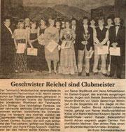 Vereinsmeister 1982