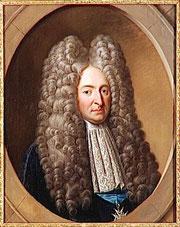 Le ministre de la guerre Chamillard a-t-il perdu sa perruque en haut de la tour du clocher de notre Collégiale ?