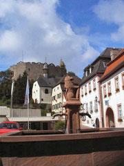 Blick auf Burg Lindenfels