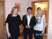 Mutter Hanna*, Stephano Schönlau + Tochter Daniela*