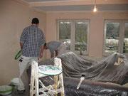 Renovierung der Wohnung