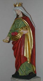 Elisabethstatue in der Kirche St. Elisabeth Essen-Schonnebeck