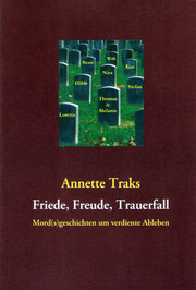 erstes Buch Annette Traks Krimi Kurzgeschichten