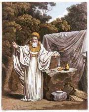Erzdruide in Ritualgewand, Bild S.R. Meyrick und C.H. Smith