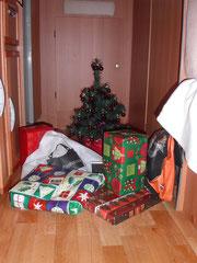 Le père Noël a trouvé la cheminée !