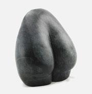 Donna Frau Speckstein Skulptur