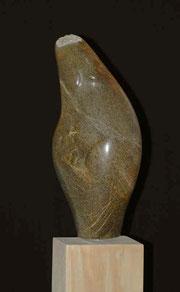 Die Sanfte Frau Speckstein Skulptur