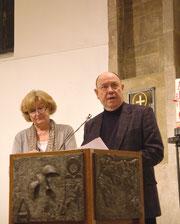 Das Ehepaar Nikolaus und Anne Schneider zu Gast in der Marktkirche