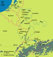 Le bassin du Rhin