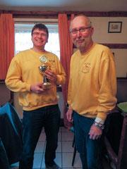 2. und 1. Vorsitzender (Thomas & Dieter)