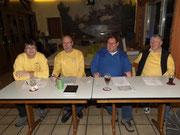 Vorstand (v. l.) Thomas Trautmann, Dieter Heidenreich, Burkhard Balkenhol, Günther Heins