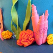 Nemo Unterwasser Tauf Torte