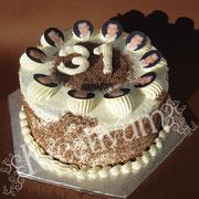 Wölkchen Creme Torte