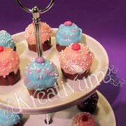 Cake Balls - Anleitung Muffins