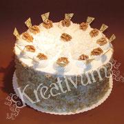 Rezept Wallnuss Birnen Torte