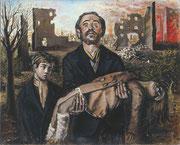 «Civilisation 37 (Guerre d'Espagne)» 1937, 100x81, GU1