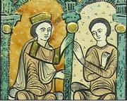 Ramn Berengier I. und Almodis (Liber feudorum / 12. Jh.)