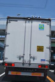 大型トラック 追従