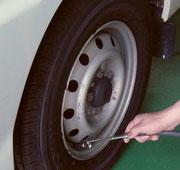 空気圧点検 交通安全 事故防止 安全運転管理 運行管理