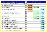 健康管理チェック表