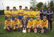 Landesligamannschaft 1981