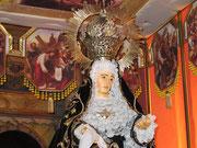 """""""Nuestra Señora de la Soledad"""". Foto cedida por hermano de la cofradía."""