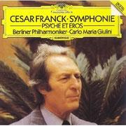 C. M. マリア・ジュリーニ指揮、ベルリン・フィルの演奏。1986年2月録音。