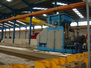 machinery for production hollowcore slab