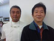 佐藤 文彦先生(左)