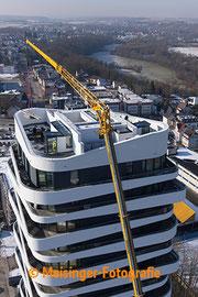 Bauprojekt SKY Hochhaus