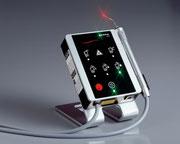 Laser: Schmerzarme Behandlung (© Fa. elexxion)