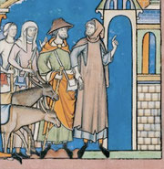 Maciejowski-Bibel: Folio 15v