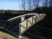 Fledermausbrücke NWU Foto: M. Rösler