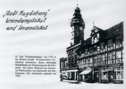 "Gründungslokal ""Stadt Magdeburg"""